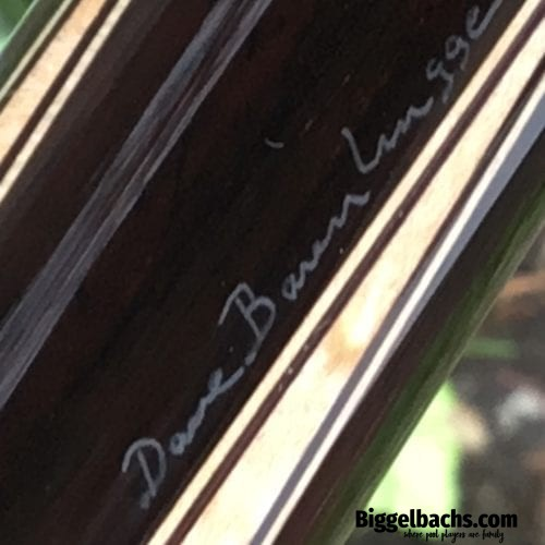 Barenbrugge custom cue